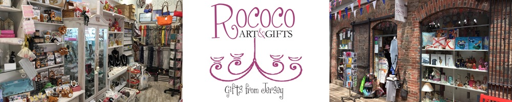 Rococo Art and Gifts, site logo.