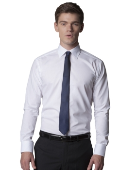 Kustom Kit Men's Slim Fit Long Sleeve Business Shirt