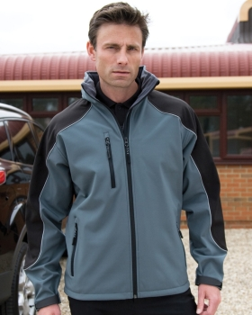 Result Hooded Softshell Jacket
