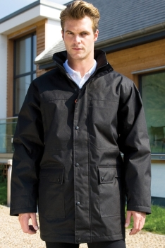 WORK-GUARD by Result Men's Platinum Managers Jacket