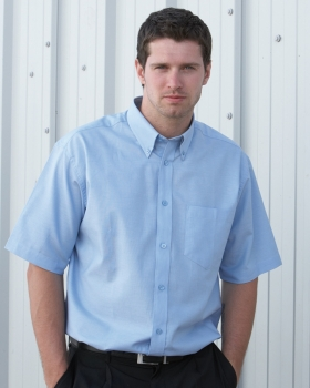 Dickies Short Sleeve Cotton/Polyester Oxford Shirt