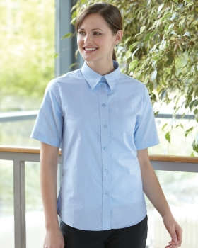 Dickies Ladies' Short Sleeve Blouse