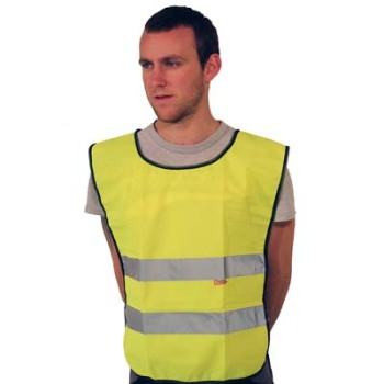 Hi Vis Tabard (Yellow)