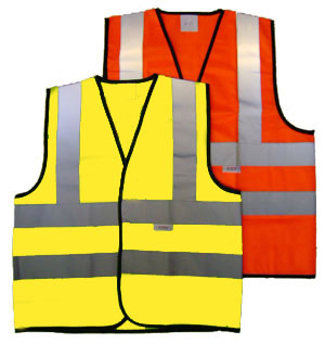 Hi Vis Vest Twin Band & Brace