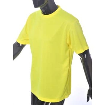 HYM875 Hymac Hi Vis T-Shirt without Tape (Yellow)