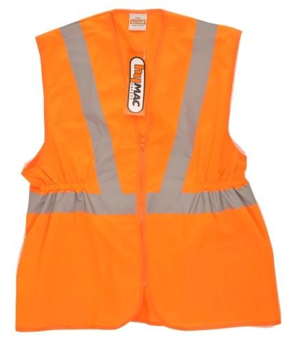 HYM002 Hymac Hi Vis Long Rail Vest
