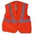 HYM022 Hymac Hi Vis Long Rail Vest (Orange)