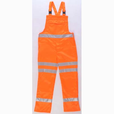HYM034 Hymac Hi Vis Bib & Brace (Orange)