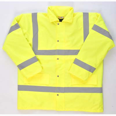 HYM300 Hymac Hi Vis Motorway Jacket (Yellow)