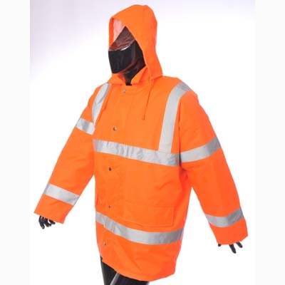 HYM300 Hymac Hi Vis Motorway Jacket (Orange)