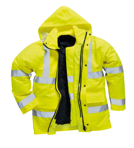 HYM220 Hymac Hi Vis 4 in 1 Jacket