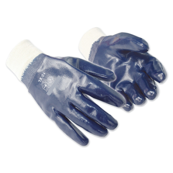 Nitrile Knitwrist Safety Gloves