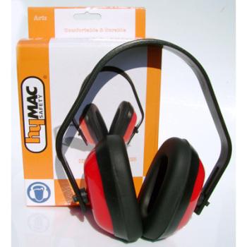 HYM622 Hymac Ear Muff (Yellow and Red)