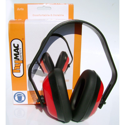 HYM622 Hymac Ear Muff (Yellow and Red)