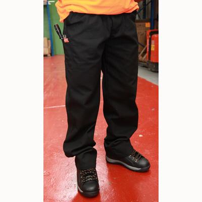 HYM890 Hymac Canvas Trousers (Black)