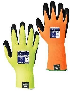 Hi-Vis Grip Glove - Latex - A340