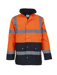 Yoko Hi Vis Two Tone Motorway Jacket YK048