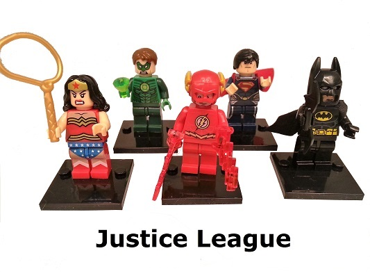 Justice League Inspired Building Blocks