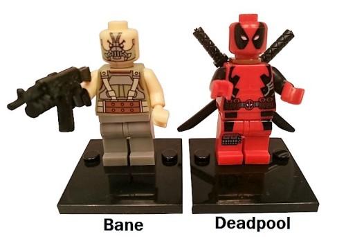 Superhero Building Block Minifigures