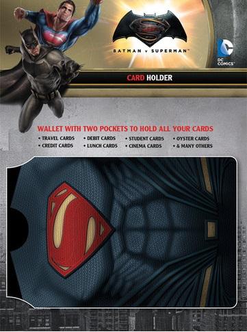 Batman Vs Superman Card Holder