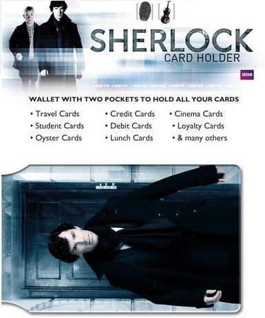Sherlock Card Holder