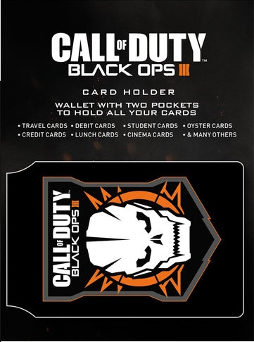 Call of Duty Black Ops Card Holder