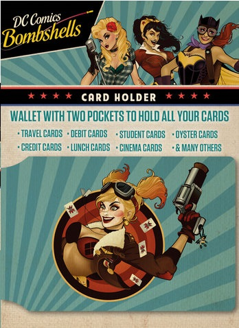 Harley Quinn Card Holder