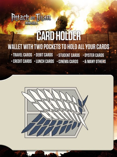 Attack on Titan Card Holder