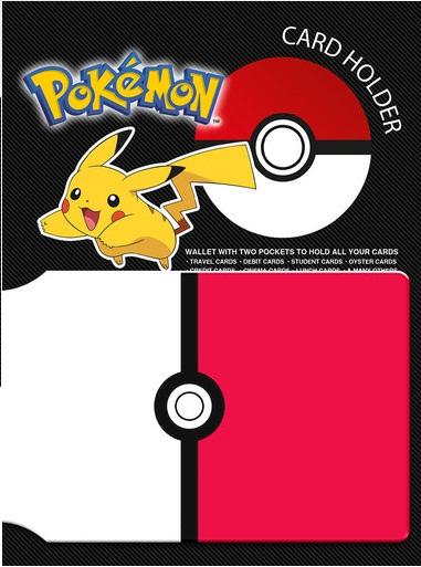 Pokemon Pokeball Card Holder