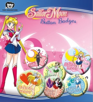 Sailor Moon Button Badge Pack