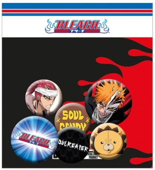 Bleach Button Badge Pack