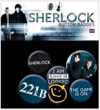 Sherlock Button Badge Pack