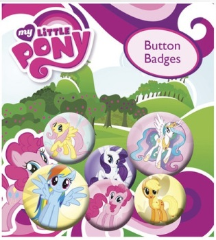 My Little Pony Button Badge Pack