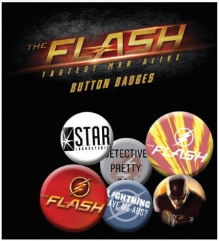 The Flash Button Badge Pack