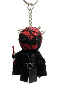Darth Maul String Doll Keyring