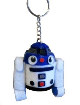 R2D2 String Doll Keyring