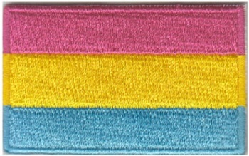 Pansexual Pride Flag Iron On Patch