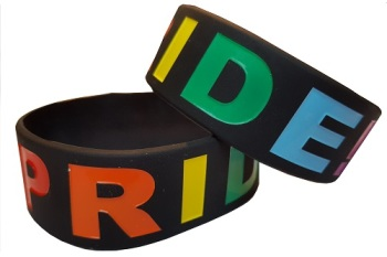 PRIDE Silicon Rubber Wristband