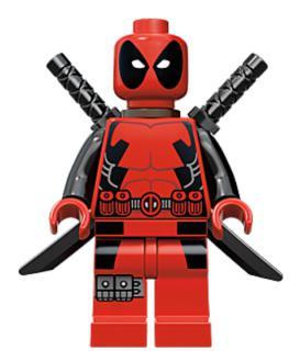 Superhero Building Block Minifigure: Deadpool