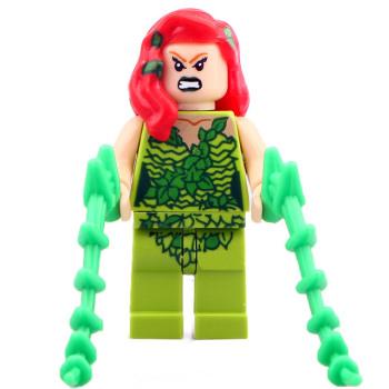 Superhero Building Block Minifigure: Poison Ivy