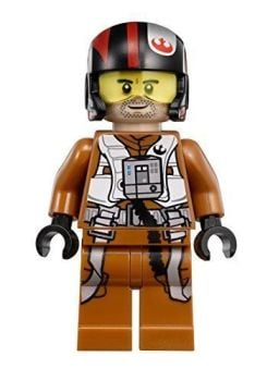 Star Wars Building Block Minifigure - Poe Dameron