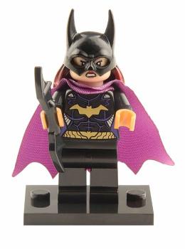 Superhero Building Block Minifigure: Batgirl