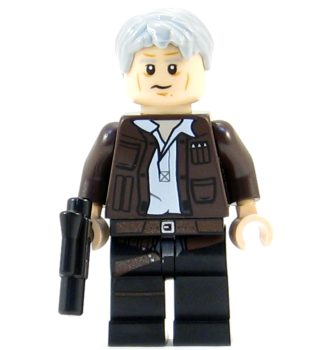 Star Wars Building Block Minifigure - Han Solo