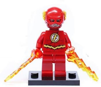 Superhero Building Block Minifigure - The Flash
