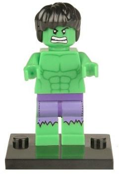 Superhero Building Block Minifigure - Hulk