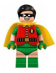 Superhero Building Block Minifigure: Robin