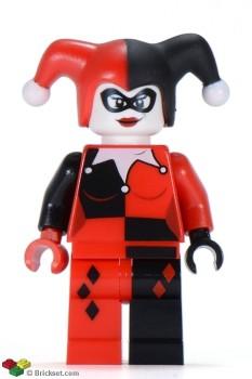 Superhero Building Block Minifigure: Harley Quinn