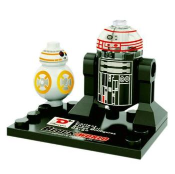 Star Wars Building Block Minifigure - BB8 and Imperial Astromech Drioid