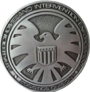 Agents of S.H.I.E.L.D Belt Buckle