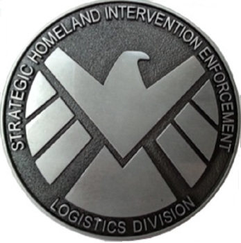 Agents of SHIELD Belt Buckle